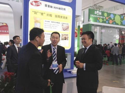 2014沈阳展览会上相片